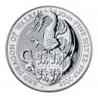 10 Ounce The Queen's Beast Dragon 2018 Silver Coin