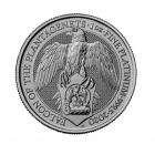 1 Ounce Platinum Queen's Beast (Falcon Of The Plantagenets)