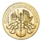 1 Ounce Austrian Gold Philharmonic (Mixed Years) 999.9
