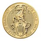 1 Ounce Queen's Beast Yale Of Beaufort Gold Coin 999.9