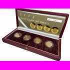 2004 Gold Beasts Proof £1 Pattern Box Set
