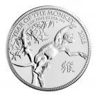 1 Ounce Lunar Monkey Silver Coin (Mixed Years) .999