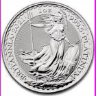1 Ounce Platinum Britannia Coin (2021)