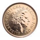 Half Gold Sovereign (4g) (Elizabeth II Fourth Head) CGT Free*