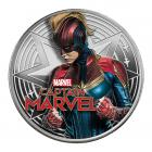 1 Ounce Captain Marvel Silver Coin (Gift Set)