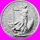 1 Ounce 2019 Silver Britannia Coin (Oriental Border)