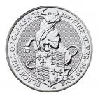 2 Ounce Silver Queen's Beast Black Bull of Clarence (2018)