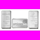 100 Gram Mixed Brands Investment Silver Bar .999