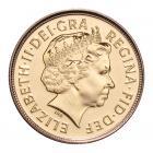 Gold Sovereign (8g) (Elizabeth II, 4th Head) CGT Free