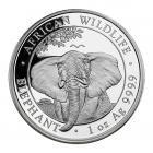 1 Ounce Silver Somali Elephant Coin (2021)