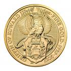 1 Ounce Queen's Beast Griffin Of Edward Gold Coin 999.9