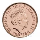 22ct 4 Gram Half Gold Sovereign Coin (2021) CGT Free*
