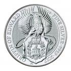 2 Ounce Silver Queen's Beast Griffin Of Edward (2017)
