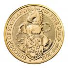 1 Ounce Queen's Beast Unicorn Of Scotland Gold Coin 999.9