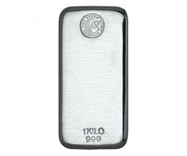 1KG Perth Mint Investment Silver Bar .999 image