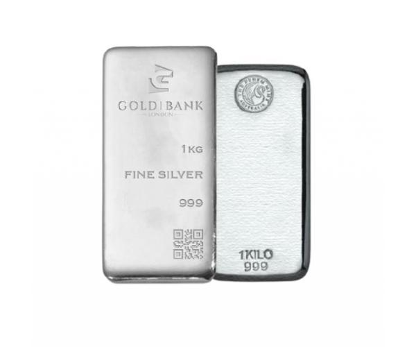 1KG Gram Mixed Brands Investment Silver Bar .999 image