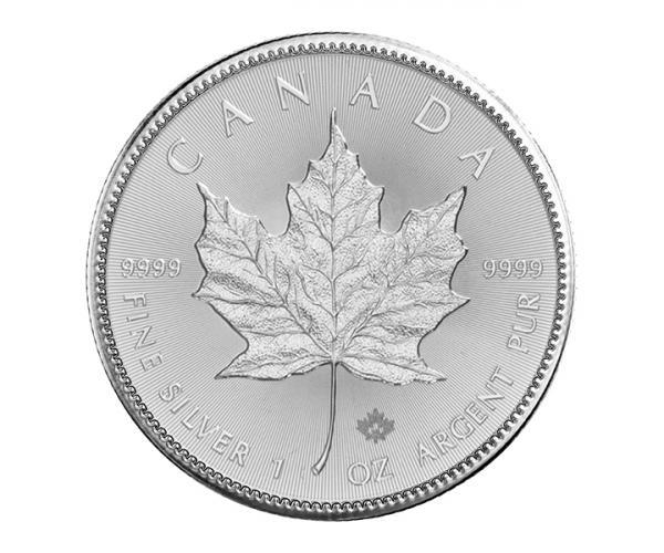 1 Ounce Silver Maple Leaf (2021) image