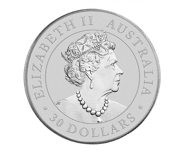 1kg Australian Koala Silver Coin (2021) image