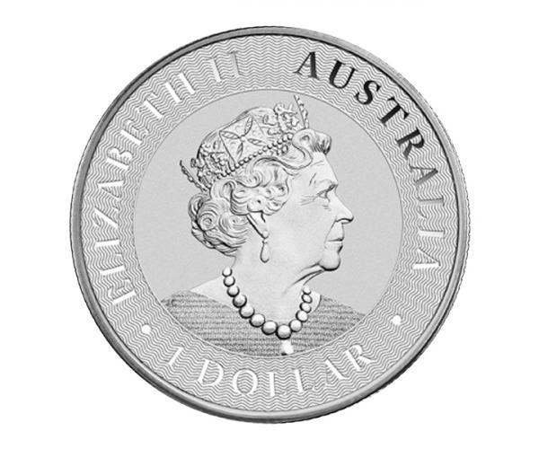 1 Ounce Silver Australian Kangaroo (2021) image