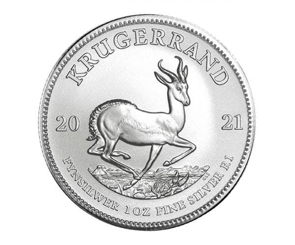 1 Ounce Silver Krugerrand (2021) image