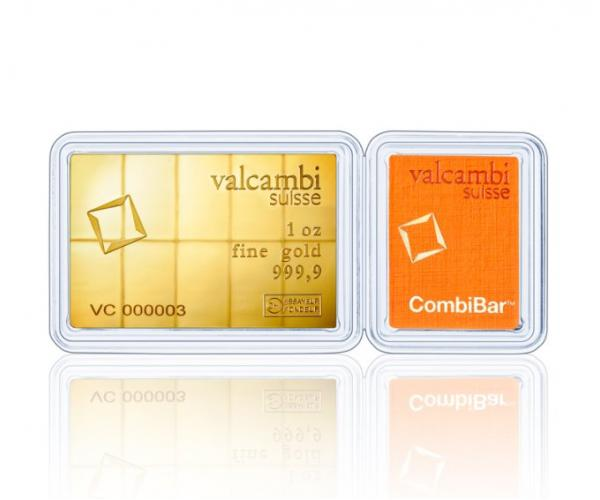 10 x 1/10 Ounce Investment Gold CombiBar image