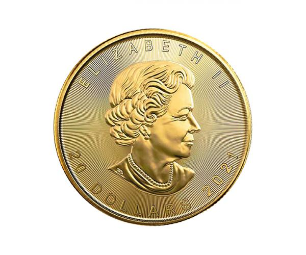 1/2 Ounce Gold Maple Leaf (2021) image