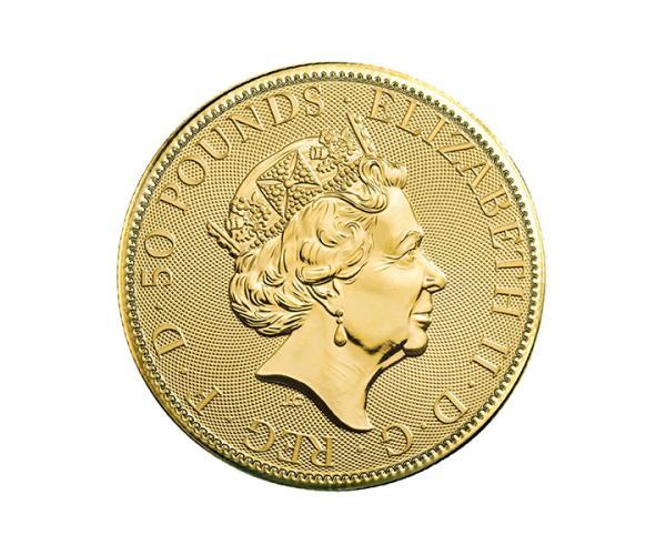 1/2 Oz Gold Britannia (Mixed Years) CGT Free image