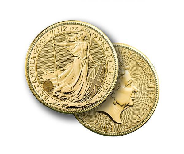 1/2 Oz Gold Britannia Coin (2021) image