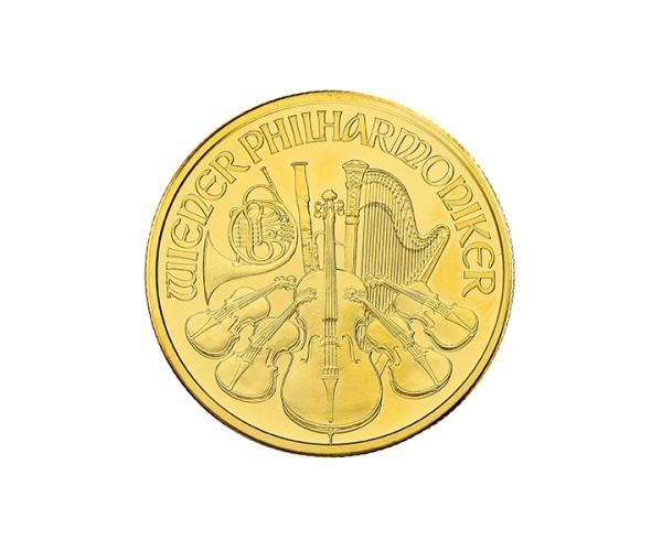 1/4 Ounce Austrian Gold Philharmonic (Mixed Years) image