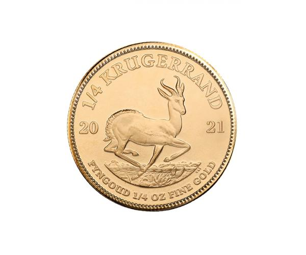 1/4 Ounce Gold Krugerrand (2021) image