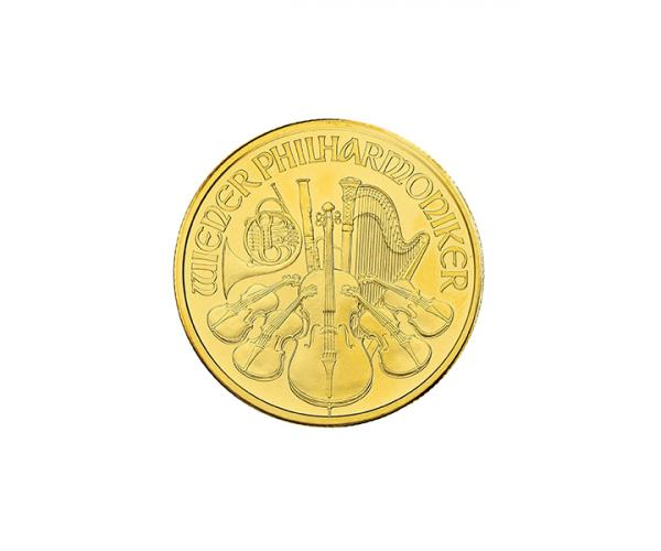 1/10th Oz Austrian Gold Philharmonic (2021) image