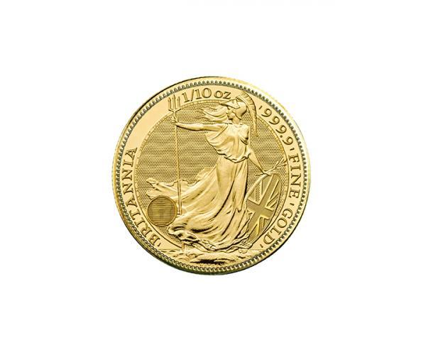 1/10th Ounce Gold Britannia Coin (Mixed Years) image