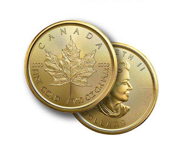 1/10th Ounce Gold Maple Leaf (Mixed Years) image