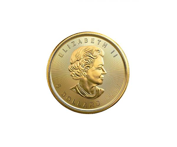 1/10th Oz Gold Maple Leaf (Mixed Years) image