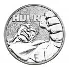 1 Ounce Marvel Series The Incredible Hulk Silver Coin .999