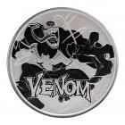 1 Ounce Marvel Series Venom Silver Coin .999