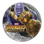 2 Ounce Marvel Series Thanos Silver Coin (Gift Set) .999