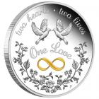1 Ounce One Love Coin (2021)
