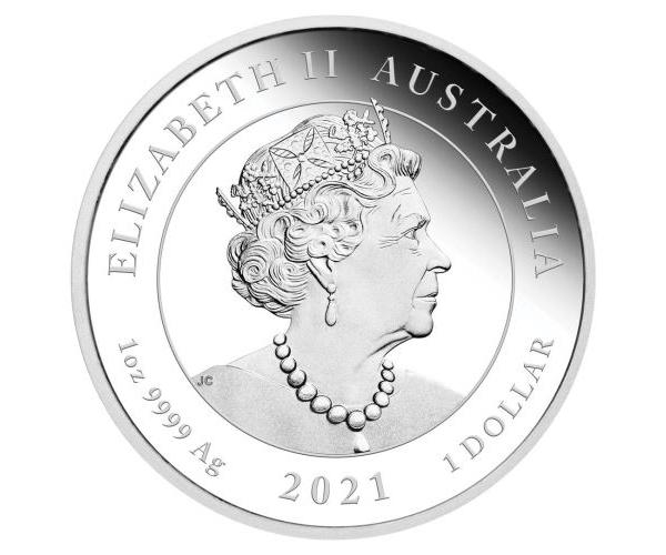 1 Ounce One Love Coin (2021) image