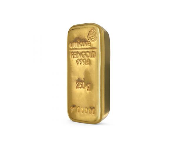 250 Gram Umicore Investment Gold Bar (999.9) image