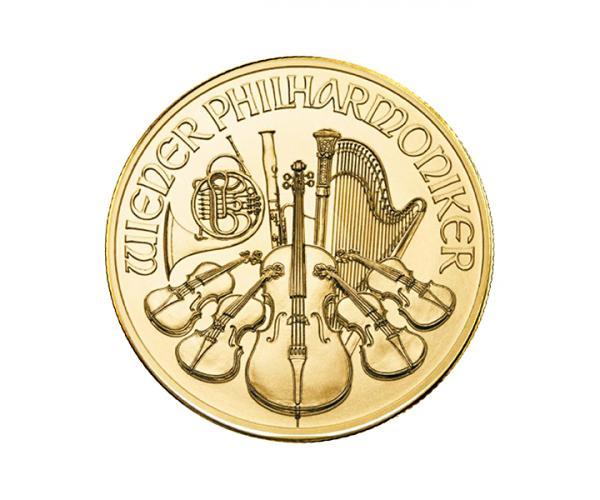 1/2 Oz Gold Philharmonic (2021) image