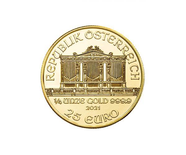 1/4 Oz Austrian Gold Philharmonic (2021) image