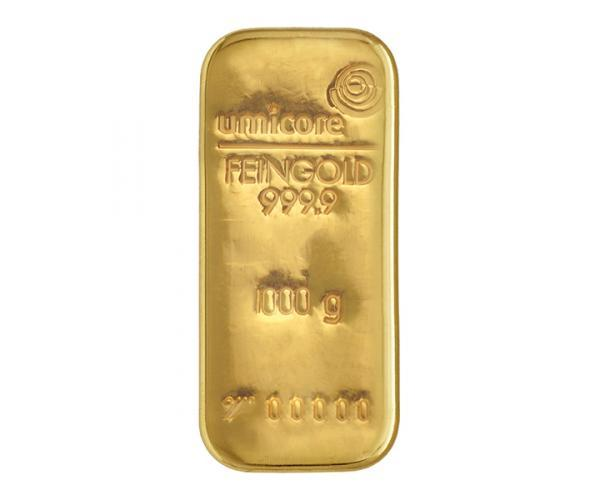 1KG Umicore Investment Gold Bar (999.9) image
