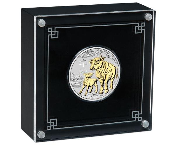 1 Oz Silver Year Of The Ox 2021 (Box Set) image