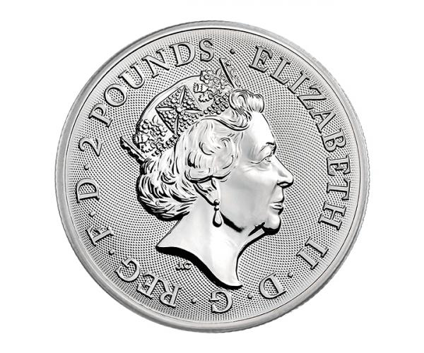 1 Ounce Silver Buckingham Palace (2019) image