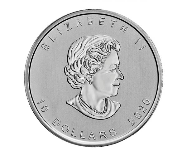 2 Ounce Canadian Goose Fine Silver Coin .999 image