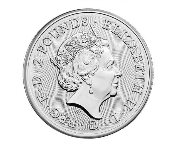 1 Ounce (2021) The Royal Arms Silver Coin .999 image