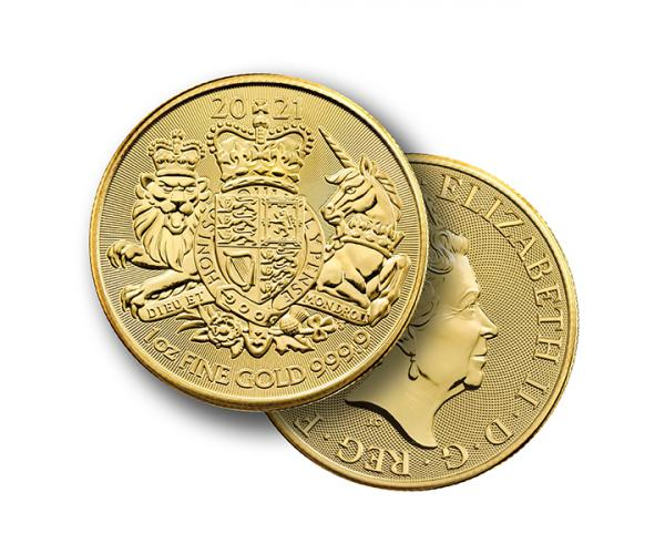 1 Ounce (2021) The Royal Arms Gold Coin 999.9 image