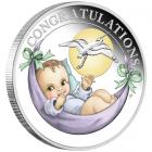 1/2 Ounce New Born Fine Silver Coin