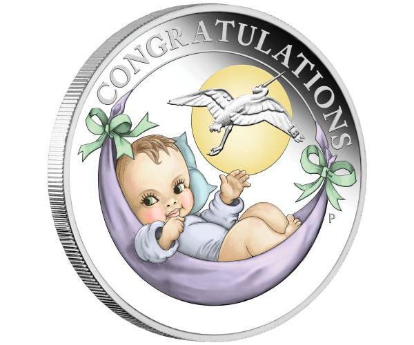 1/2 Ounce New Born Fine Silver Coin image